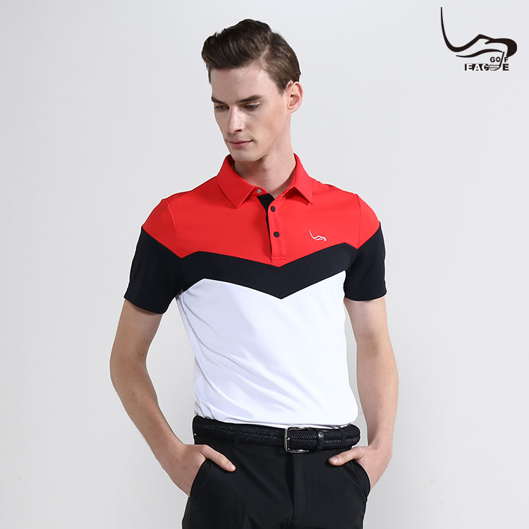 Summer not shrinking unisex polo sport neck t shirts Featured Image