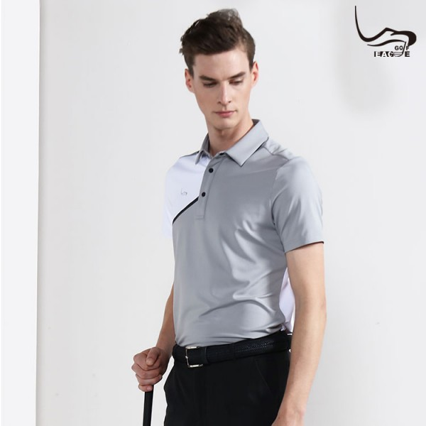 New US textile safety standard dry fit polyester polo shirt for men