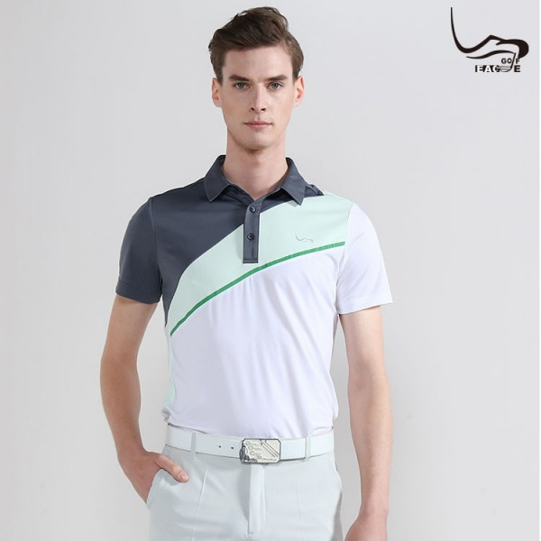 Wholesale high quality business clothes fashion men polo t shirts