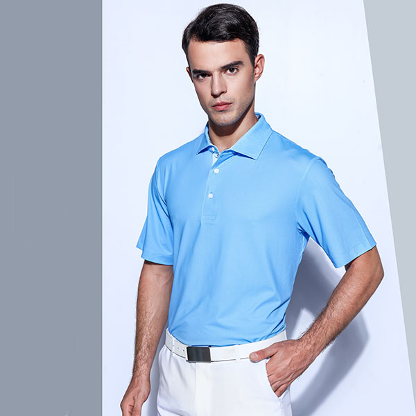 Latest shirts for men fashion sublimation striped golf polo shirt