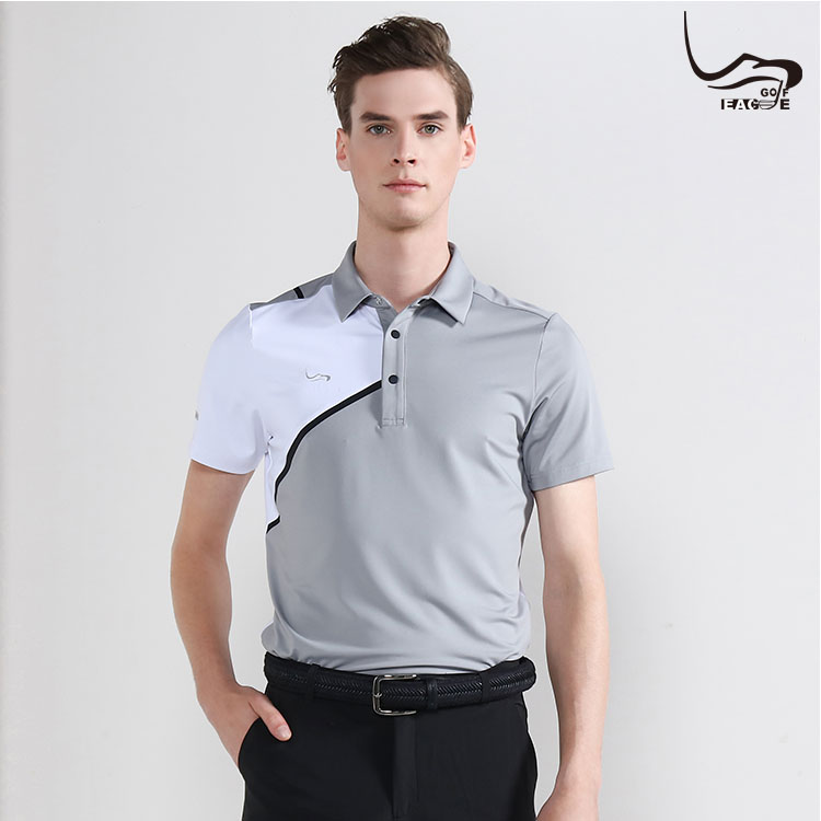 New US textile safety standard dry fit polyester polo shirt for men Featured Image