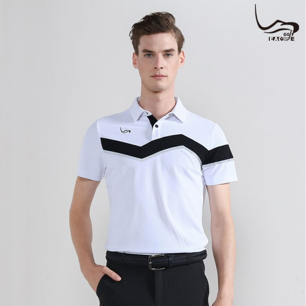 New style custom moisture wicking polyester men's polo golf shirt