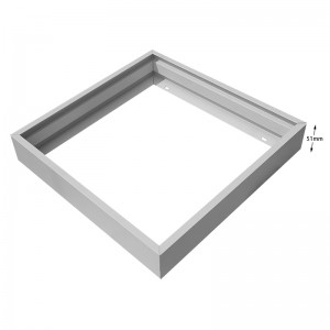62×62 30×120 Screwless Surface Mounting Frame