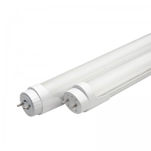 Factory source Flat Led Linear Light - AL+PC Rotatable End Cap T8 LED Tube – Eastrong