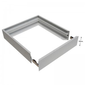 70mm Deep No-screw Surface Mounting Kit For LED Backlight Panel