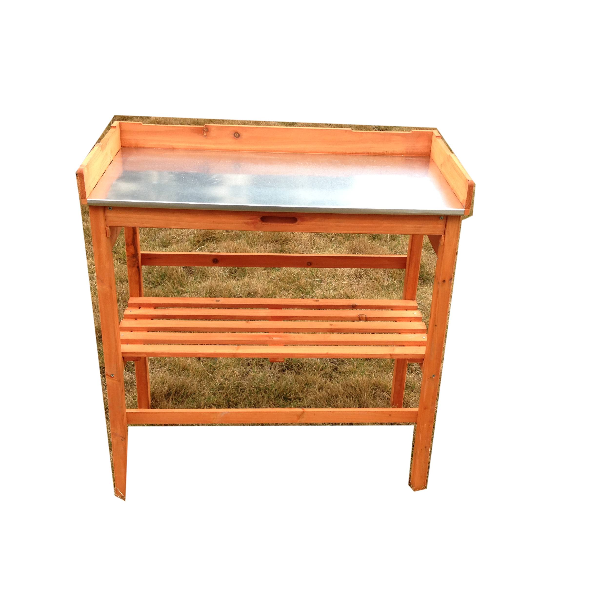 China Work Bench Tabletop Cabinet Drawer Open Shelf Wood Outdoor Garden Potting Bench Plant Table Manufacturer And Supplier Easy
