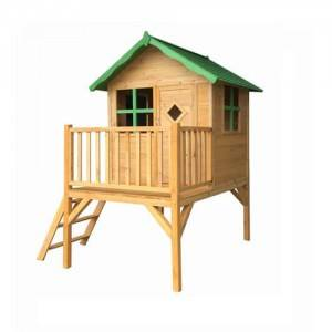Factory Wooden Toys Children House Shape Sorter Activity Cubby Playhouse  outdoor EYPH1710