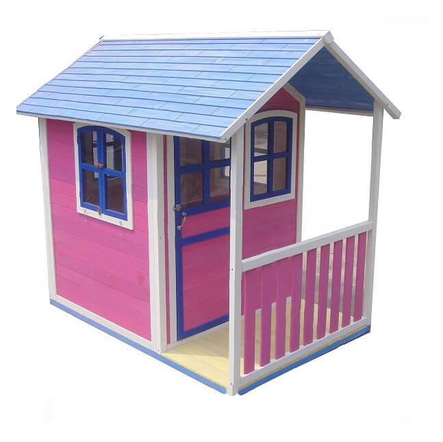 Baby Play Pretend Toy Design Wooden Doll Furniture  prefabricated Playhouse For Kids  EYPH1707 Featured Image