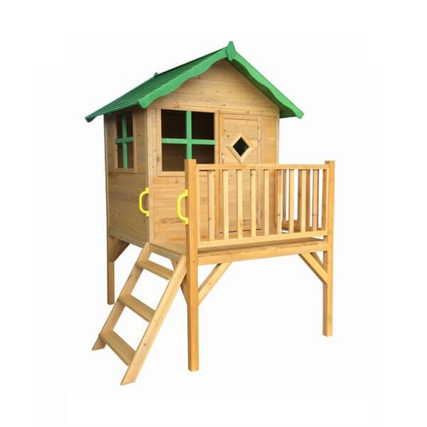 Factory Wooden Toys Children House Shape Sorter Activity Cubby Playhouse  outdoor EYPH1710 Featured Image