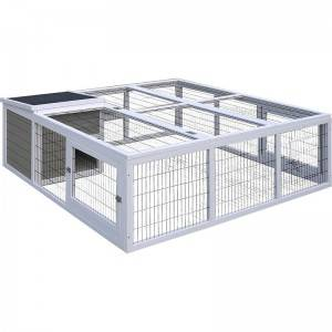 Factory Price Small Animal Pets House handmade wooden  balmoral rabbit hutch EYR021