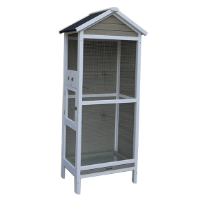 Low price for Aluminum Dog Crate - Wholesale Popular 2 floor wooden  bird cages for sale – Easy