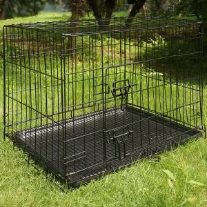 Chinese Professional Cat Travel Carrier - Wire Mesh Cage EYW007 – Easy