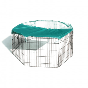Hexagon  global industrial wire mesh security cage