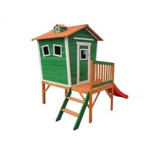 Fabrik Direkt blasformen Big Backyard Brightside Outdoor Playhouse Spielhäuser EYPH1702