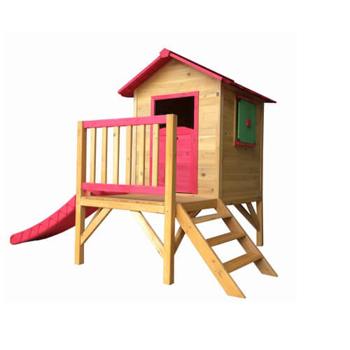 Good quality children kids outdoor wooden playhouse  EYPH1704 Featured Image