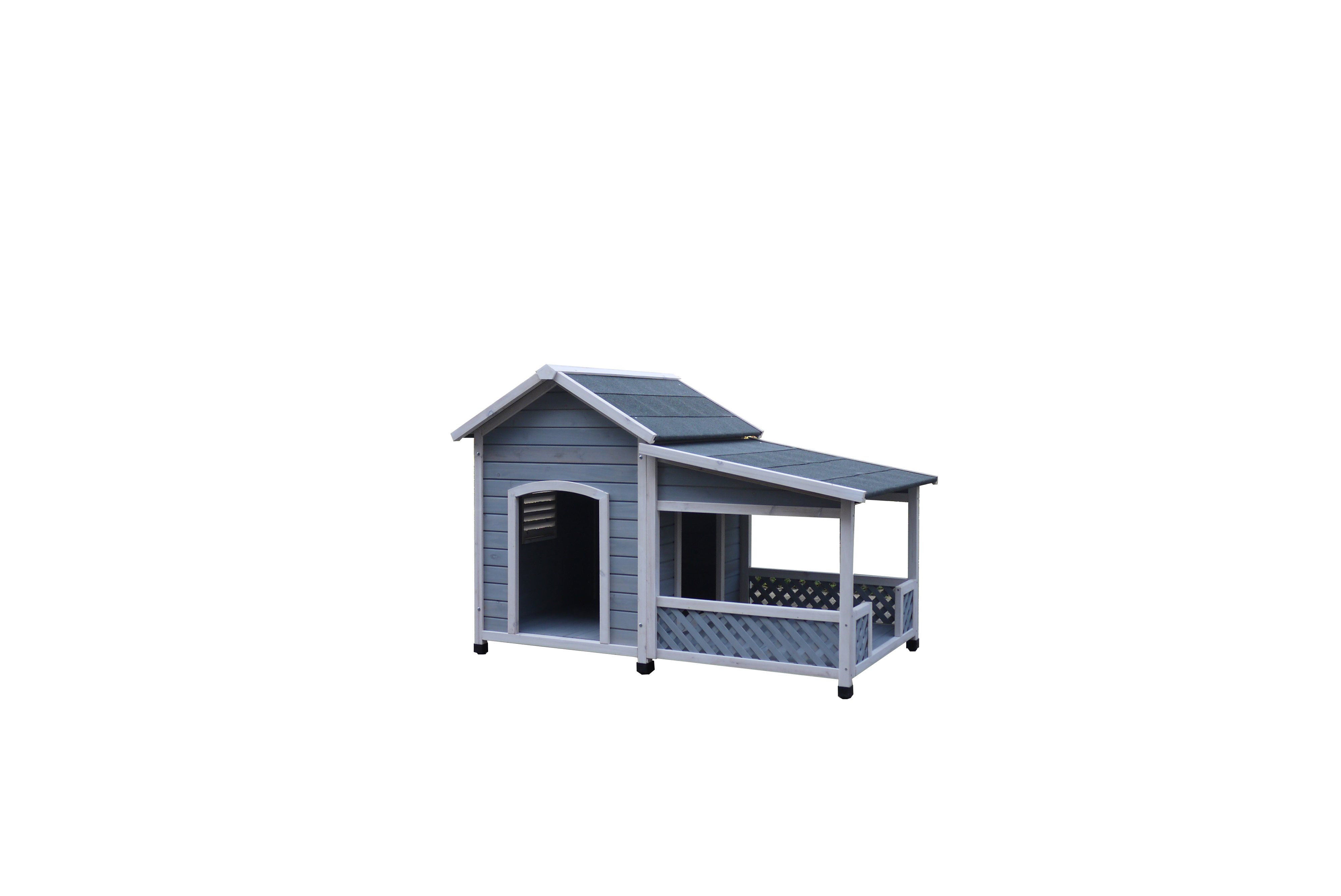 China Strong Water Absorption Commercial Pet Wooden House Fancy Craft Wood Heated Dog Cage Kennel Manufacturer And Supplier Easy