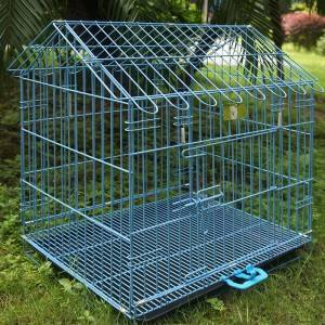 Competitive Price Warehouse Folding  wire rabbit cages for sale
