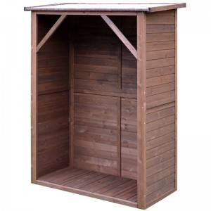 Chinese direct supplier wooden Garden Funiture tool shed wholesale  EYG003