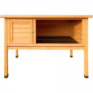 Hot Sale Wooden Folding Double Decker With Run coach house Rabbit Hutch  EYR003