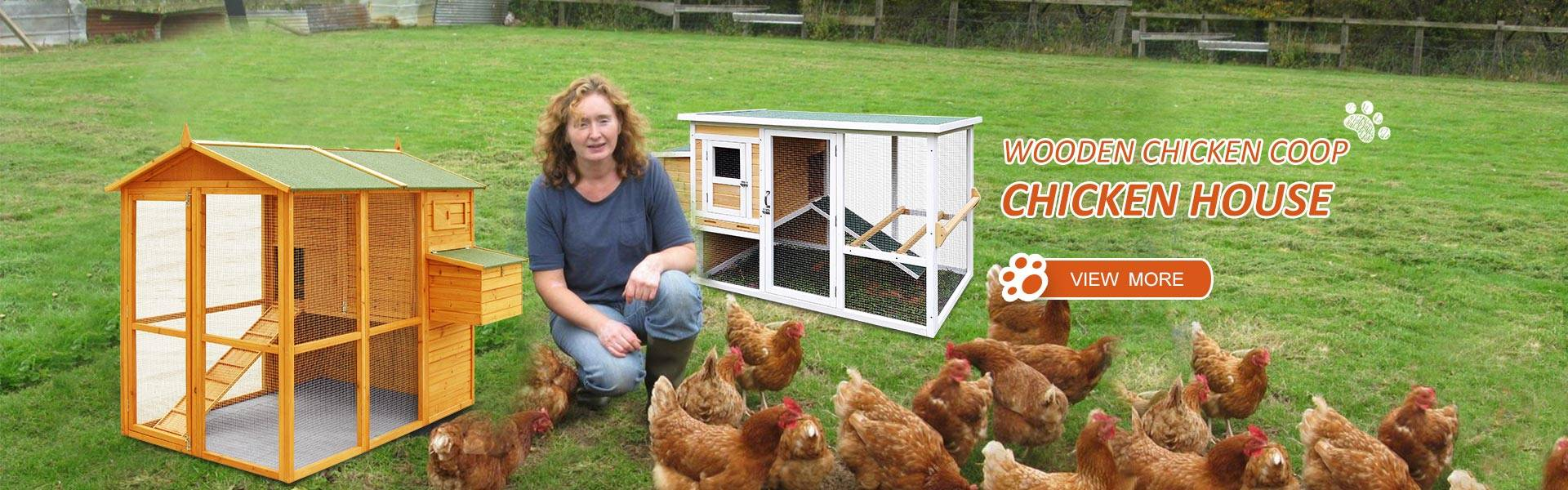 Wooden Chicken coop / chicken house