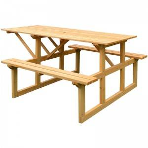 Outdoor wooden picnic tables for sale near me