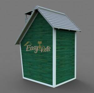 Factory wholesale custom Hot selling New Design Good quality wooden play house for kids EYPH1711