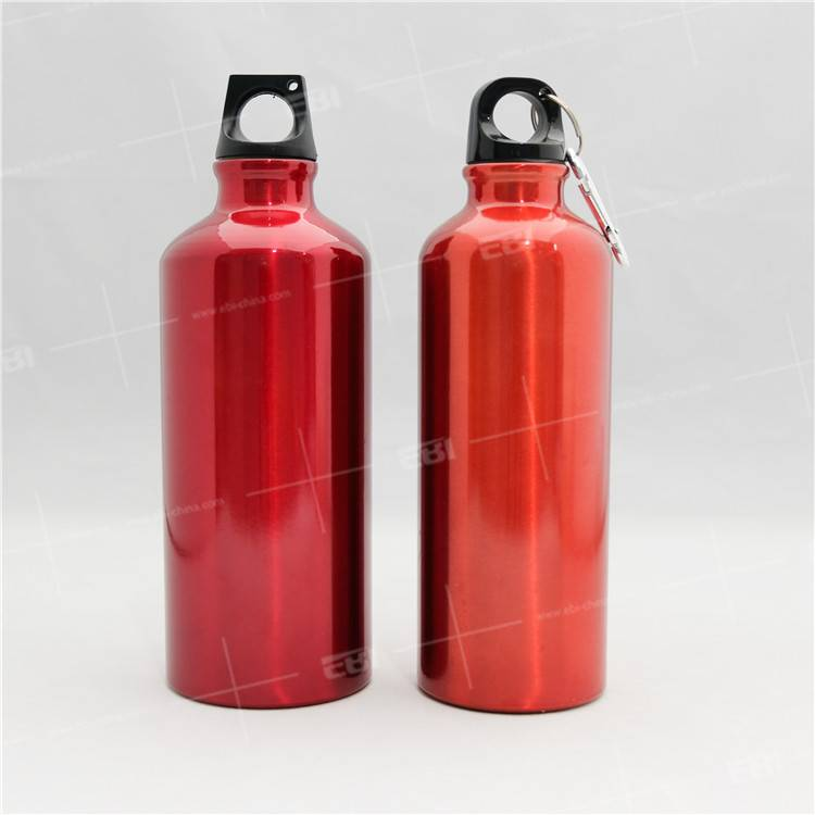 1000ml 750ml 500ml Made in China aluminum water bottle