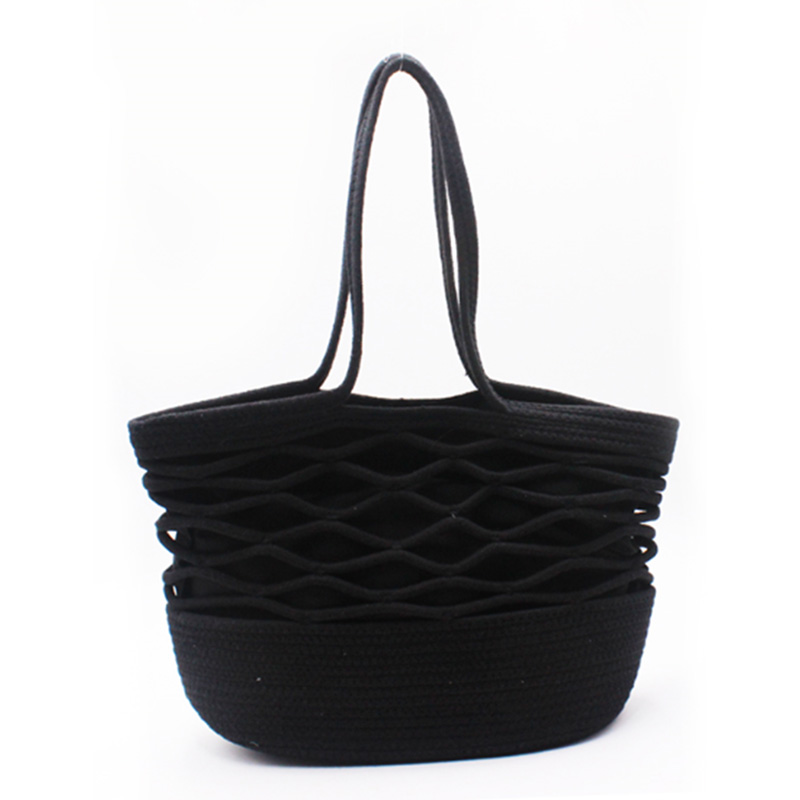 High Performance Bucket Bag Backpack - Eccochic Design Hand-made Rope Tote Bag – Eccochic
