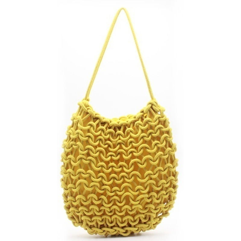 Eccochic Design Large Size Woven Shoulder Bag Featured Image