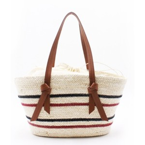 High reputation Canvas Tote Bag - Eccochic Design Summer Striped Straw Shoulder Bag – Eccochic