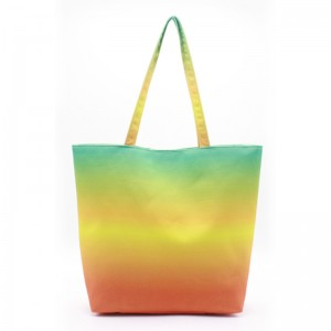 Eccochic Design Canvas Ombre Tote Beach Bag