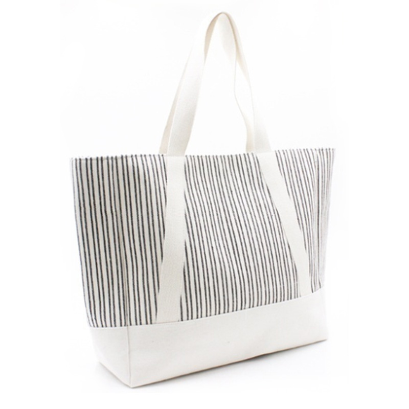 Hot-selling Beach Bag Backpack - Eccochic Design Large Size Stripes Beach Tote Bag – Eccochic
