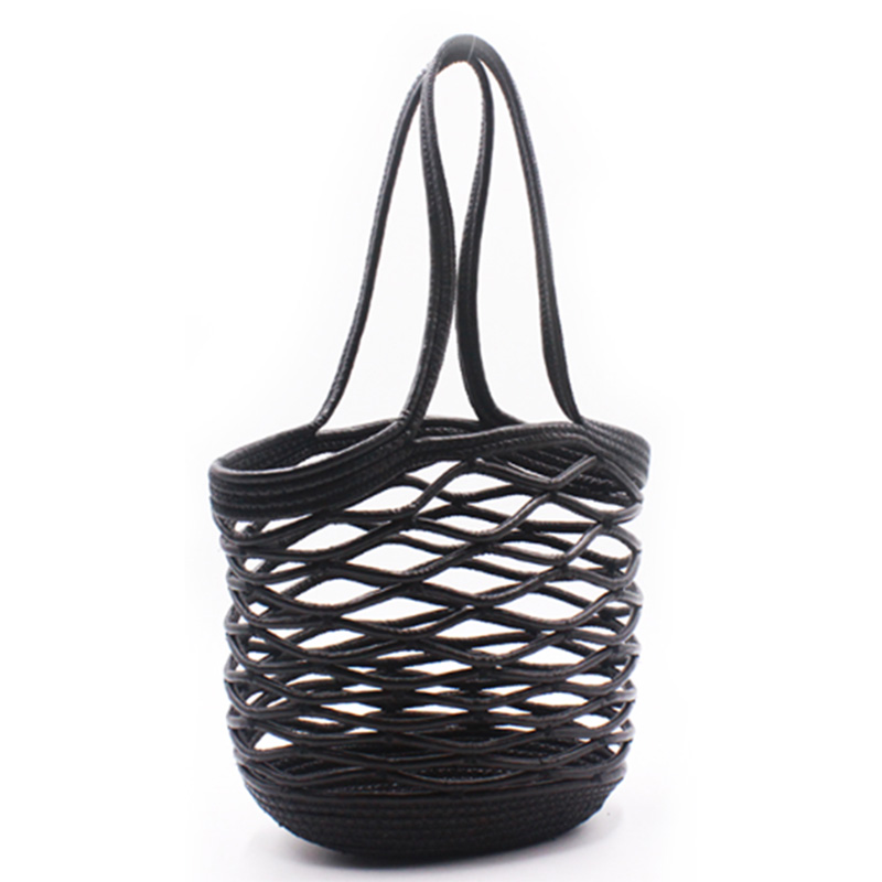 Best-Selling Nylon Bucket Bag - Eccochic Design Exclusive High Quality Pu Cord  Hand-made Shoulder Bag – Eccochic