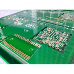 ເຄິ່ງ Hole Pcb & Edge Plated PCB32