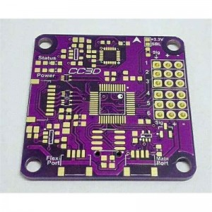 Purple Rigid PCB
