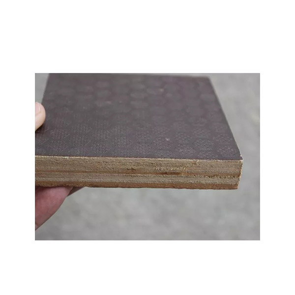 High definition 18mm Thick Marine Plywood - Antislip-Film-Faced-Plywood-For-Stage-Flooring-And-Truck-Flooing – Edlon detail pictures