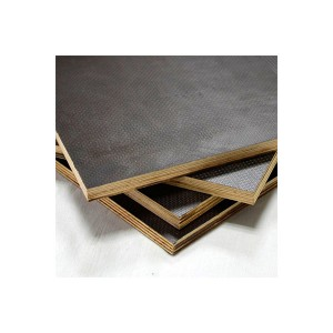 Reasonable price for Wbp Glue Commercial Plywood - Antislip-Film-Faced-Plywood-For-Stage-Flooring-And-Truck-Flooing – Edlon