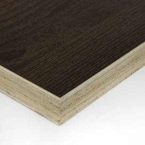 Edlon 18mm thick cabinet grade wood grain melamine plywood poplar core