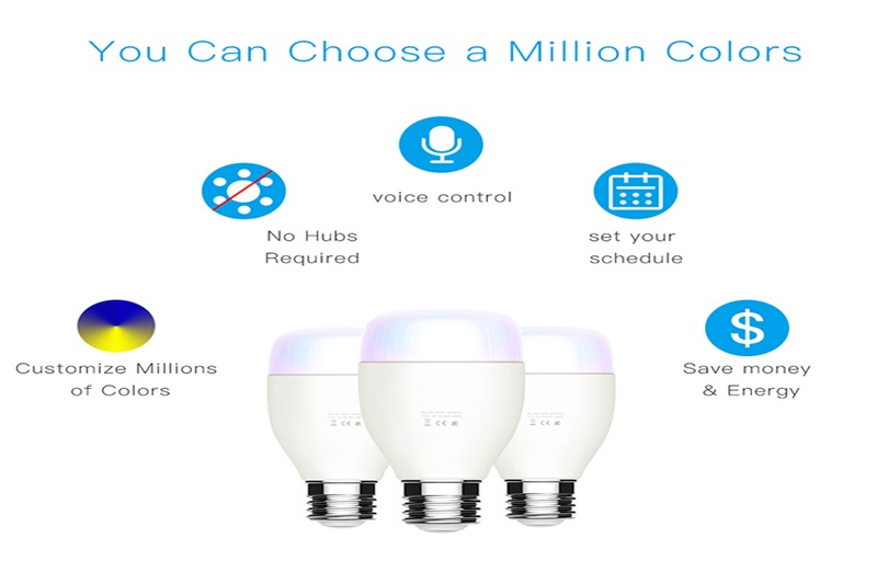Smart wifi led bulbs