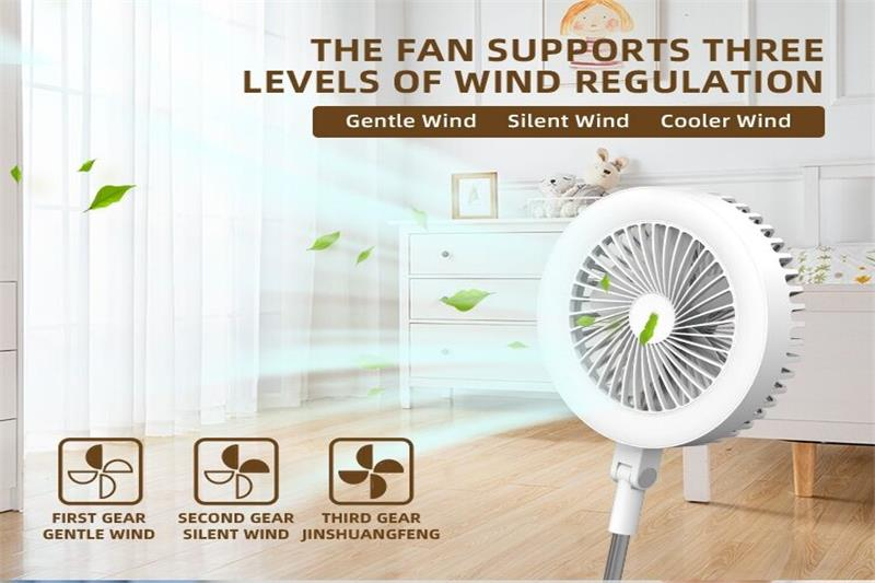 HOT PORTABLE LED FAN