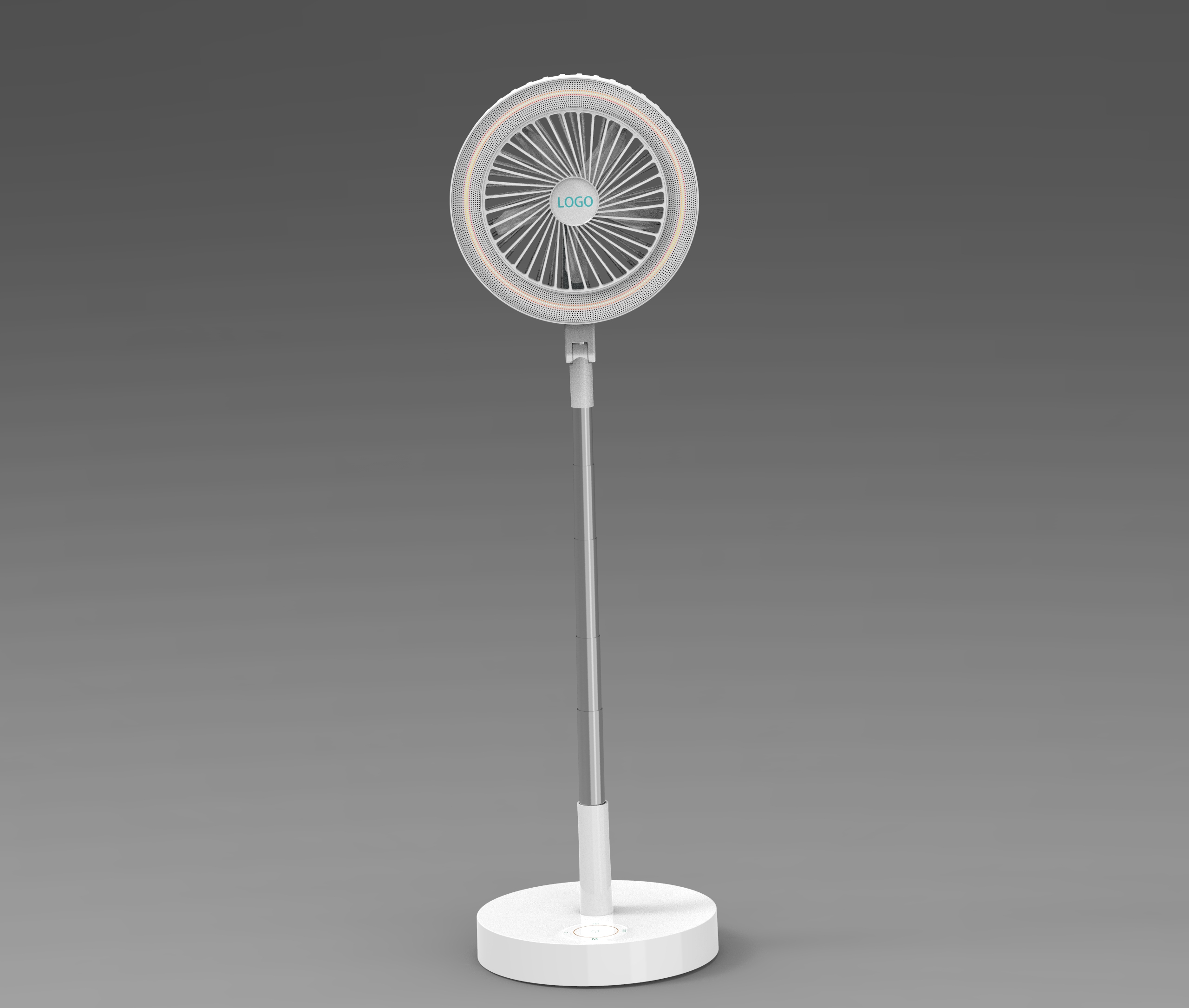 Hot new Fan Lovely Cooler Portable Super Mini Fan with LED Lights
