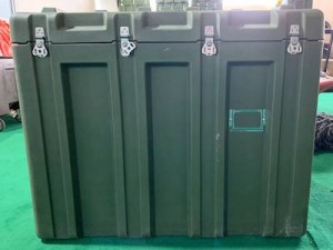 Military Box – Mixed HDPE+LDPE rotational molding