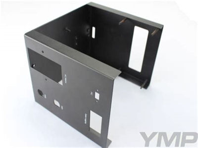 custom fabrication factory high precision blue brushing anodizing aluminum laser cutting cnc bending punching enclosure