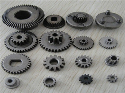 powder metallurgy parts steel spur gear for handset parts