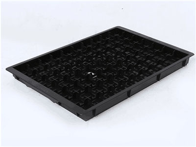 vacuum formed plastic antistatic esd pp tray for electronics