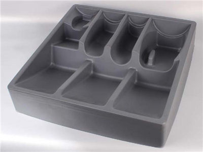 vacuum formed plastic pp blister packaging tray for electronics