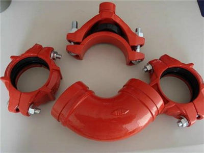 fm ul certificates ductile iron grooved couplings and pipe fittings