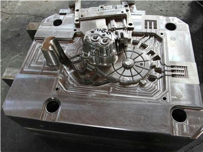 metal parts by aluminum die casting mould made