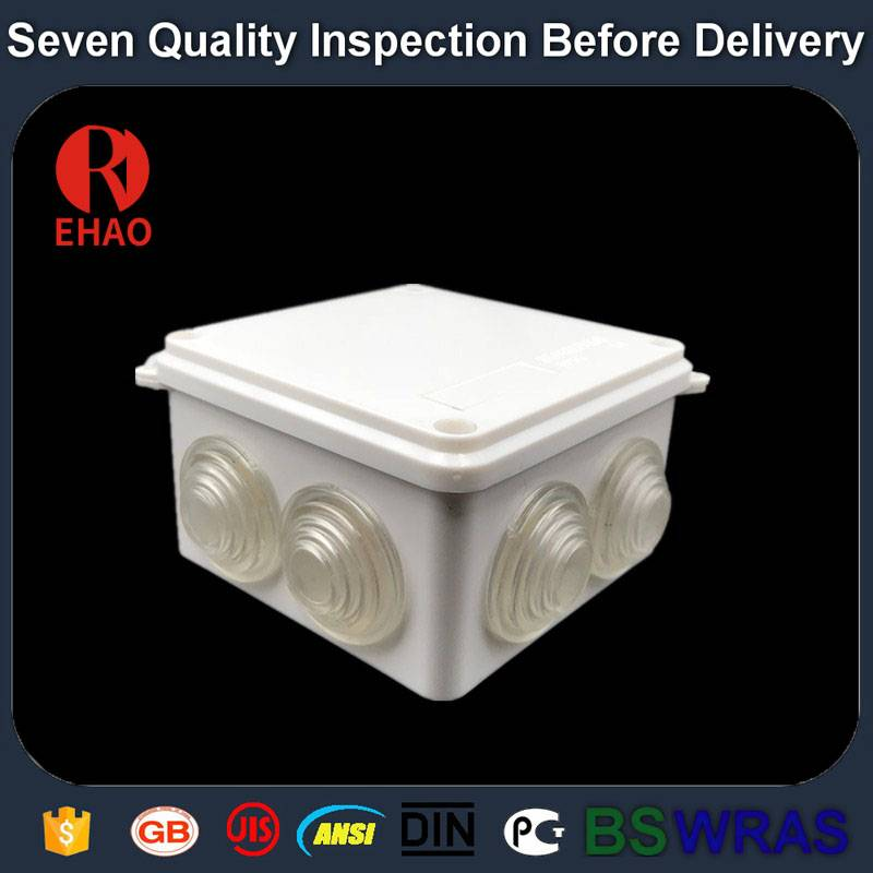 Plastic Electronic waterproof Plastic junction box small size