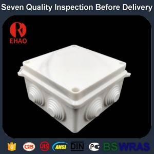 Plastic Electronic waterproof Plastic junction box middle size